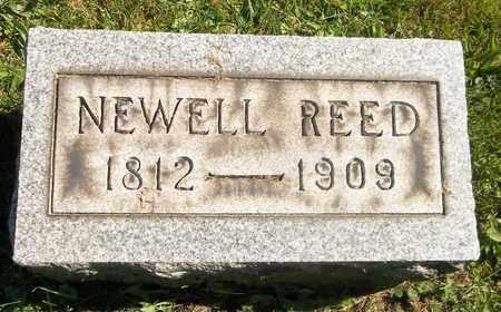 REED, NEWELL - Trumbull County, Ohio | NEWELL REED - Ohio Gravestone Photos