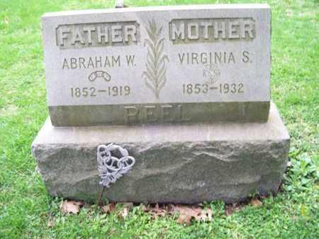 REEL, ABRAHAM W. - Trumbull County, Ohio | ABRAHAM W. REEL - Ohio Gravestone Photos
