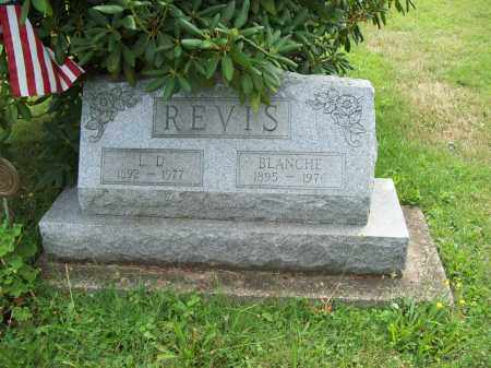 REVIS, BLANCHE - Trumbull County, Ohio | BLANCHE REVIS - Ohio Gravestone Photos