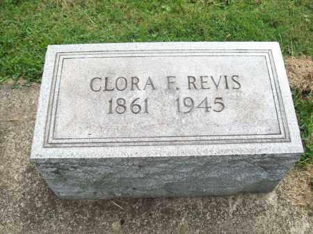 STINSON REVIS, CLORA FRANCES - Trumbull County, Ohio | CLORA FRANCES STINSON REVIS - Ohio Gravestone Photos
