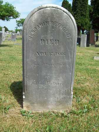 REYNOLDS, BENJAMIN - Trumbull County, Ohio   BENJAMIN REYNOLDS - Ohio Gravestone Photos