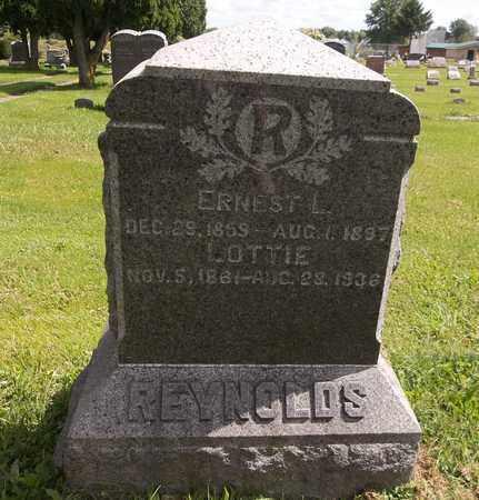 REYNOLDS, LOTTIE (CHARLOTTE LOUISE) - Trumbull County, Ohio | LOTTIE (CHARLOTTE LOUISE) REYNOLDS - Ohio Gravestone Photos