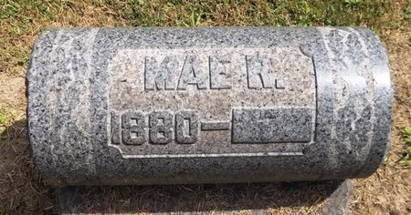 RHODES, MAE R. - Trumbull County, Ohio   MAE R. RHODES - Ohio Gravestone Photos