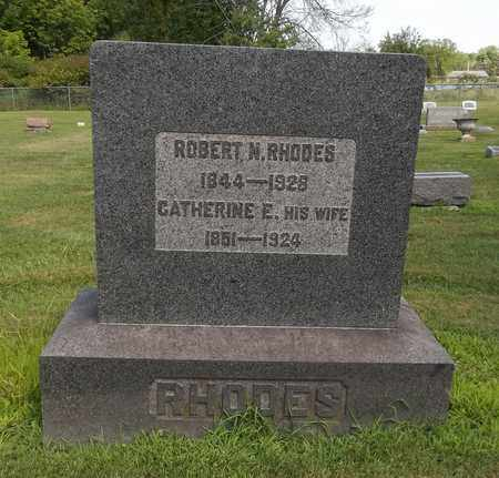 RHODES, ROBERT N. - Trumbull County, Ohio | ROBERT N. RHODES - Ohio Gravestone Photos