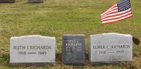 RICHARDS, ELMER C. - Trumbull County, Ohio | ELMER C. RICHARDS - Ohio Gravestone Photos