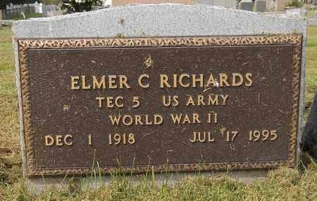 RICHARDS, ELMER C. - Trumbull County, Ohio   ELMER C. RICHARDS - Ohio Gravestone Photos