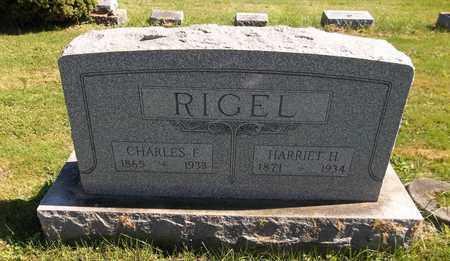 RIGEL, HARRIET H. - Trumbull County, Ohio | HARRIET H. RIGEL - Ohio Gravestone Photos