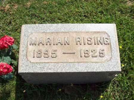 HART RISING, MARIAN - Trumbull County, Ohio | MARIAN HART RISING - Ohio Gravestone Photos