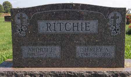 RITCHIE, SHIRLEY A. - Trumbull County, Ohio | SHIRLEY A. RITCHIE - Ohio Gravestone Photos