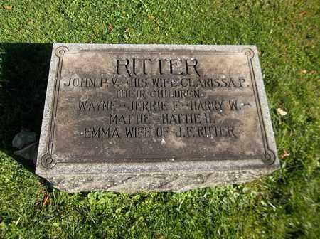 RITTER, WAYNE - Trumbull County, Ohio | WAYNE RITTER - Ohio Gravestone Photos