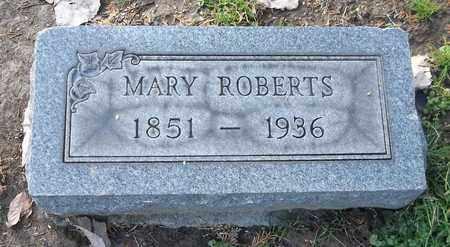 ROBERTS, MARY - Trumbull County, Ohio | MARY ROBERTS - Ohio Gravestone Photos