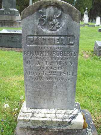 MAY ROBERTS, PANTHEA L. - Trumbull County, Ohio | PANTHEA L. MAY ROBERTS - Ohio Gravestone Photos