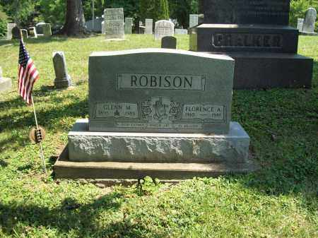 ROBISON, GLENN M. - Trumbull County, Ohio | GLENN M. ROBISON - Ohio Gravestone Photos