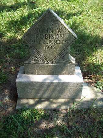 ROBISON, JOHN WILLIAM - Trumbull County, Ohio | JOHN WILLIAM ROBISON - Ohio Gravestone Photos