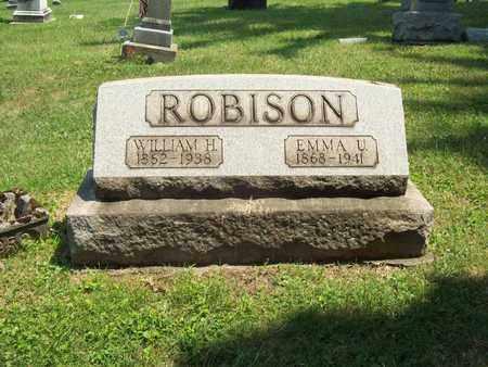 ROBISON, EMMA ULA - Trumbull County, Ohio | EMMA ULA ROBISON - Ohio Gravestone Photos