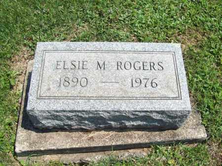 ROGERS, ELSIE M. - Trumbull County, Ohio   ELSIE M. ROGERS - Ohio Gravestone Photos