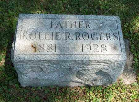 ROGERS, ROLLIE R. - Trumbull County, Ohio | ROLLIE R. ROGERS - Ohio Gravestone Photos