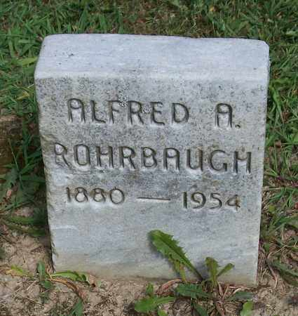 ROHRBAUGH, ALFRED A - Trumbull County, Ohio | ALFRED A ROHRBAUGH - Ohio Gravestone Photos
