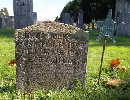 ROOKS, ELMER - Trumbull County, Ohio   ELMER ROOKS - Ohio Gravestone Photos