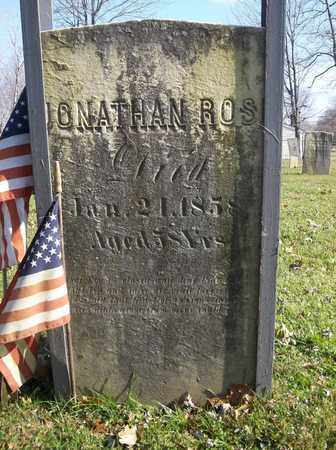 ROSE, JONATHAN - Trumbull County, Ohio   JONATHAN ROSE - Ohio Gravestone Photos