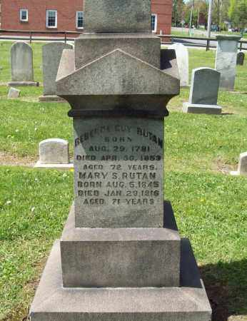GUY RUTAN, REBECCA - Trumbull County, Ohio | REBECCA GUY RUTAN - Ohio Gravestone Photos