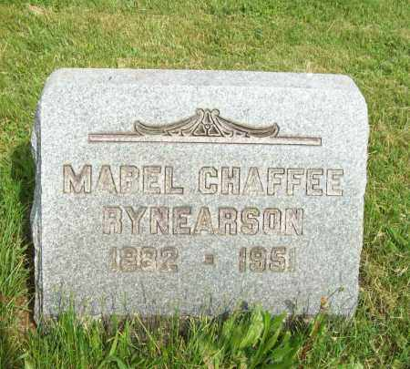 CHAFFEE RYNEARSON, MABEL - Trumbull County, Ohio | MABEL CHAFFEE RYNEARSON - Ohio Gravestone Photos