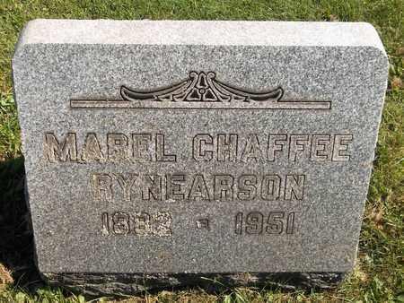 RYNEARSON, MABEL - Trumbull County, Ohio | MABEL RYNEARSON - Ohio Gravestone Photos