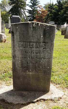 SACKETT, PHILENA E. - Trumbull County, Ohio   PHILENA E. SACKETT - Ohio Gravestone Photos