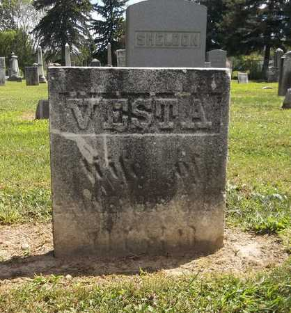 SACKETT, VESTA - Trumbull County, Ohio | VESTA SACKETT - Ohio Gravestone Photos