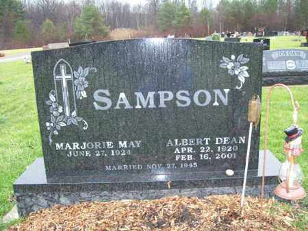 MAY SAMPSON, MARJORIE - Trumbull County, Ohio | MARJORIE MAY SAMPSON - Ohio Gravestone Photos