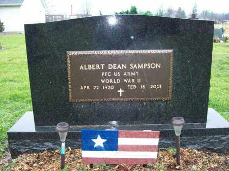 SAMPSON, ALBERT DEAN - Trumbull County, Ohio | ALBERT DEAN SAMPSON - Ohio Gravestone Photos