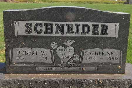 SCHNEIDER, ROBERT W. - Trumbull County, Ohio | ROBERT W. SCHNEIDER - Ohio Gravestone Photos
