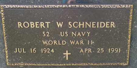 SCHNEIDER, ROBERT W. - Trumbull County, Ohio   ROBERT W. SCHNEIDER - Ohio Gravestone Photos