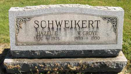 SCHWEIKERT, W. GROVE - Trumbull County, Ohio | W. GROVE SCHWEIKERT - Ohio Gravestone Photos