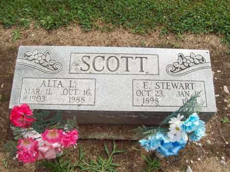 SCOTT, ERNEST STEWART - Trumbull County, Ohio   ERNEST STEWART SCOTT - Ohio Gravestone Photos
