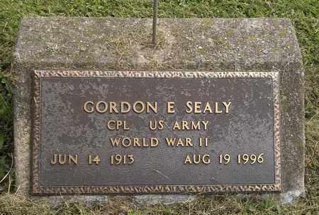 SEALY, GORDON E. - Trumbull County, Ohio | GORDON E. SEALY - Ohio Gravestone Photos