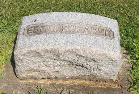 SHEARER, EDITH - Trumbull County, Ohio | EDITH SHEARER - Ohio Gravestone Photos