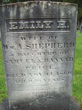PRICE SHEPHERD, EMILY H. - Trumbull County, Ohio | EMILY H. PRICE SHEPHERD - Ohio Gravestone Photos