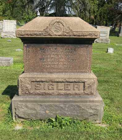 SIGLER, GEORGE - Trumbull County, Ohio | GEORGE SIGLER - Ohio Gravestone Photos