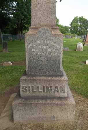 SILLIMAN, AUSTIN N. - Trumbull County, Ohio | AUSTIN N. SILLIMAN - Ohio Gravestone Photos