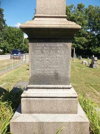 SILLIMAN, ELLA N. - Trumbull County, Ohio | ELLA N. SILLIMAN - Ohio Gravestone Photos