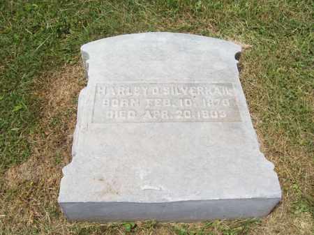 SILVERNAIL, HARLEY - Trumbull County, Ohio   HARLEY SILVERNAIL - Ohio Gravestone Photos
