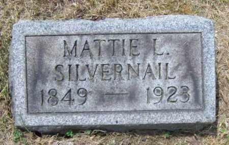 SILVERNAIL, MATTIE L. - Trumbull County, Ohio | MATTIE L. SILVERNAIL - Ohio Gravestone Photos