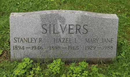 SILVERS, HAZEL I. - Trumbull County, Ohio | HAZEL I. SILVERS - Ohio Gravestone Photos