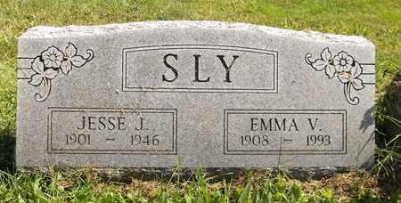SLY, EMMA V. - Trumbull County, Ohio | EMMA V. SLY - Ohio Gravestone Photos