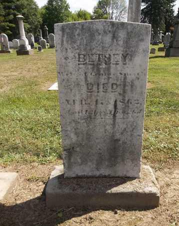 SMITH, BETSEY - Trumbull County, Ohio | BETSEY SMITH - Ohio Gravestone Photos