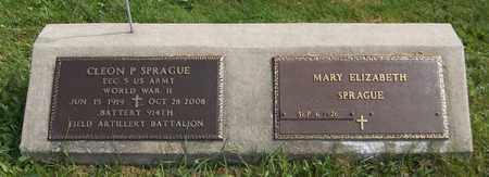 SPRAGUE, CLEON P. - Trumbull County, Ohio | CLEON P. SPRAGUE - Ohio Gravestone Photos