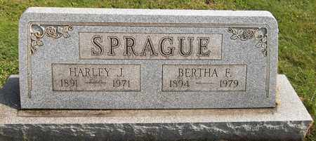 SPRAGUE, HARLEY J. - Trumbull County, Ohio | HARLEY J. SPRAGUE - Ohio Gravestone Photos
