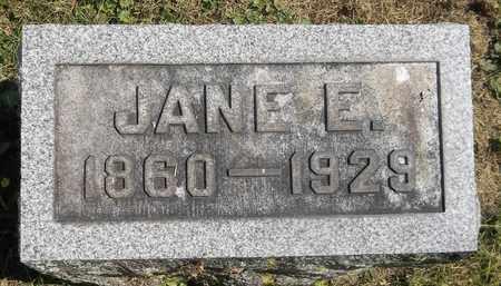 SQUIBBS, JANE E. - Trumbull County, Ohio   JANE E. SQUIBBS - Ohio Gravestone Photos