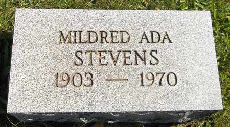 STEVENS, MILDRED ADA - Trumbull County, Ohio | MILDRED ADA STEVENS - Ohio Gravestone Photos